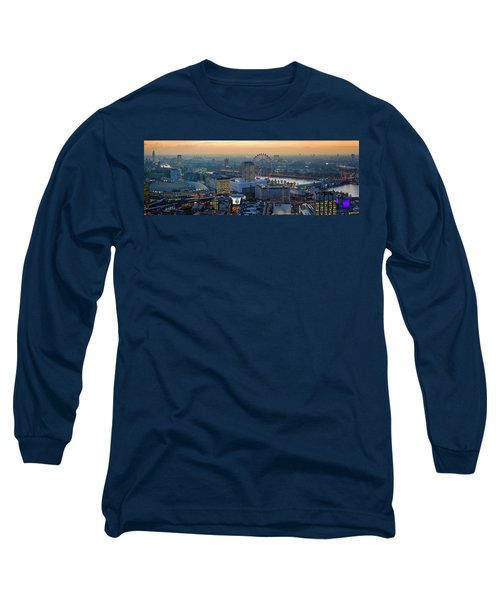London At Sunset Long Sleeve T-Shirt