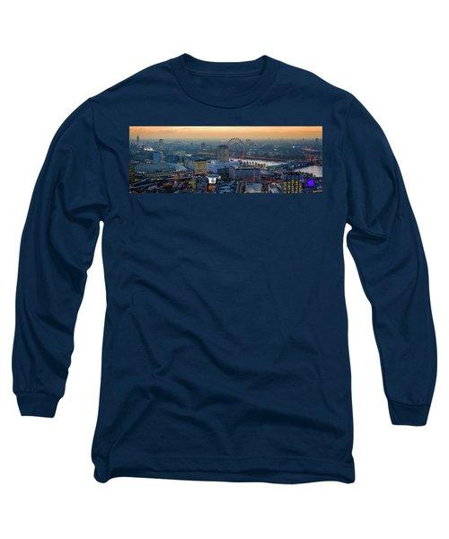 London At Sunset Long Sleeve T-Shirt