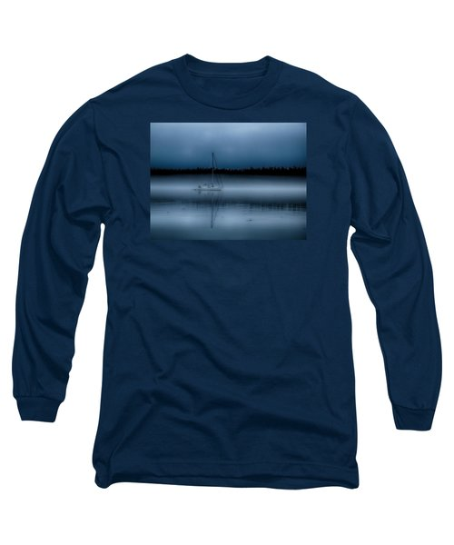 Long Ways From Nowhere Long Sleeve T-Shirt by Rob Wilson