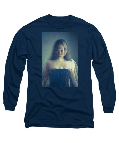 Look At Me Long Sleeve T-Shirt by Scott Meyer