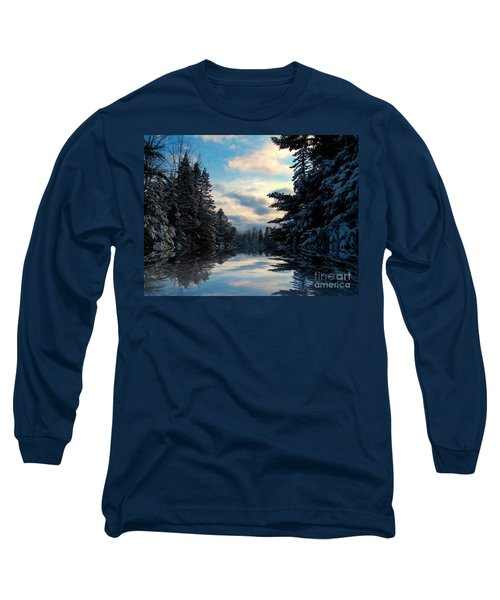 Long Sleeve T-Shirt featuring the photograph Looking Glass by Elfriede Fulda