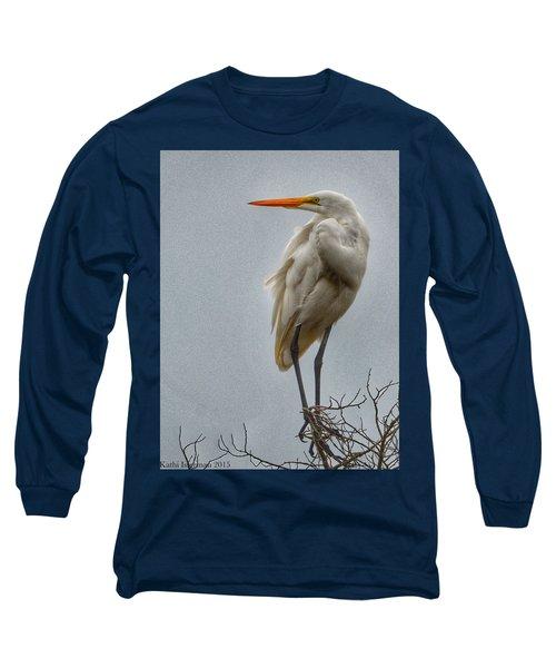 Looking Long Sleeve T-Shirt