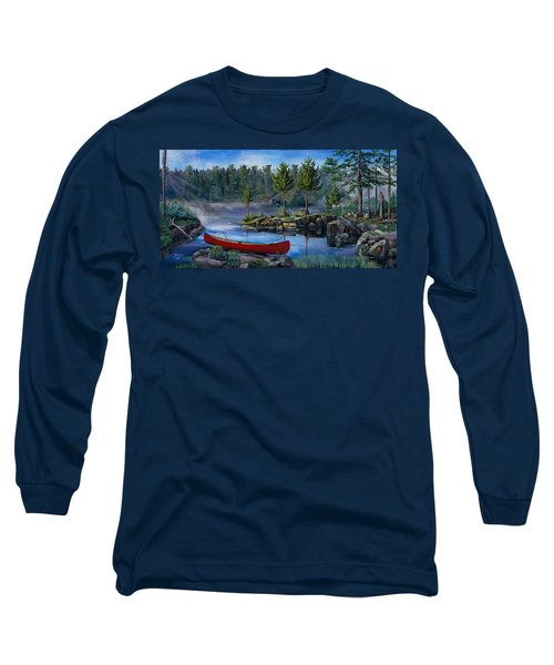 Lost In The Boundary Waters Long Sleeve T-Shirt