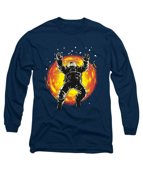 Lost In The Space Long Sleeve T-Shirt by Carbine