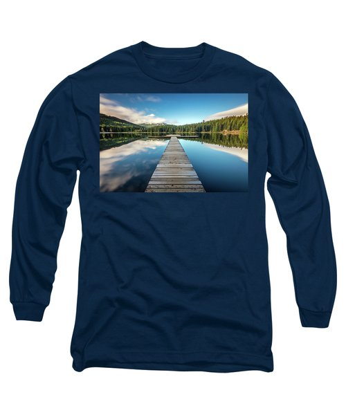 Lost Lake Dream Whistler Long Sleeve T-Shirt by Pierre Leclerc Photography