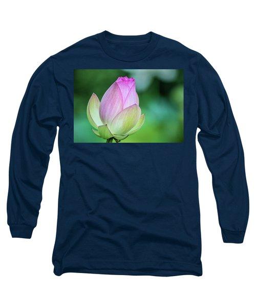 Lotus Bud Long Sleeve T-Shirt