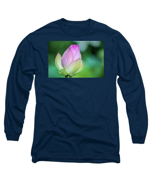 Lotus Bud Long Sleeve T-Shirt