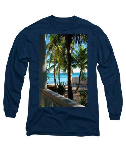 Louie's Backyard Long Sleeve T-Shirt by Susanne Van Hulst