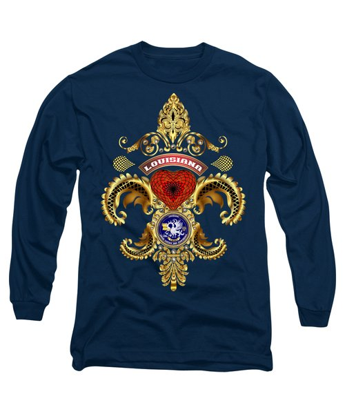 Louisiana Long Sleeve T-Shirt