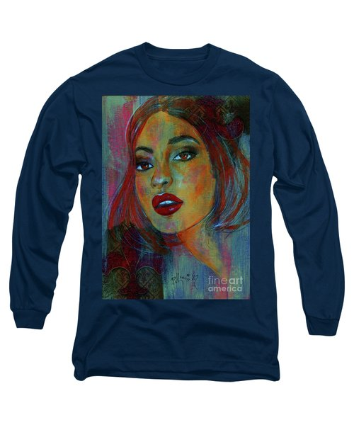 Long Sleeve T-Shirt featuring the painting Lourdes At Twilight by P J Lewis