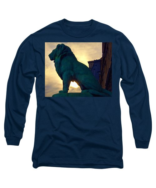 Louve Lion Long Sleeve T-Shirt by John Hansen