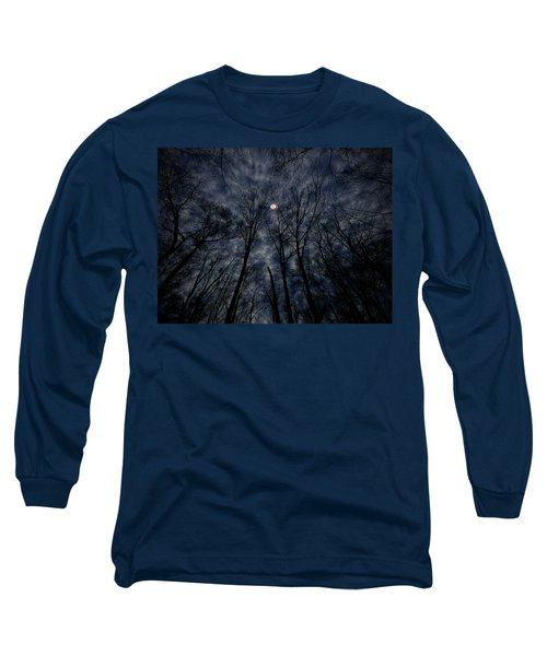 Long Sleeve T-Shirt featuring the photograph Lovely Dark And Deep by Robert Geary