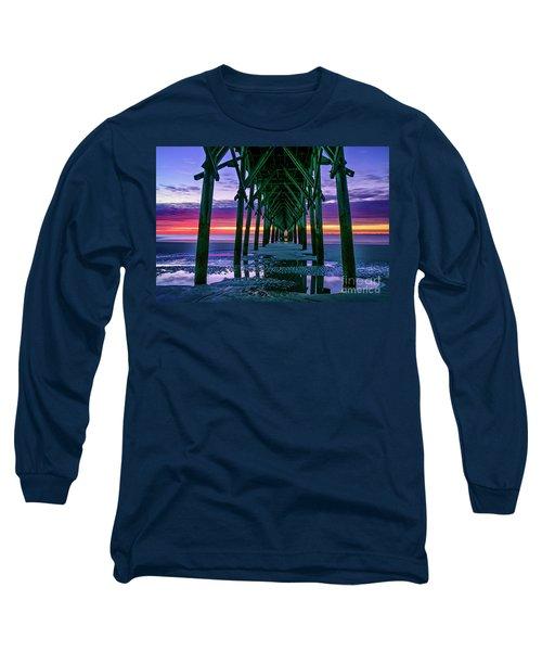 Low Tide Pier Long Sleeve T-Shirt