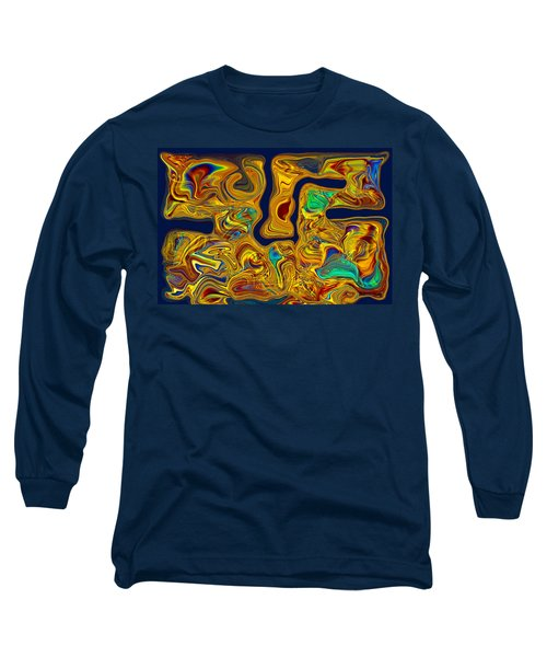 Long Sleeve T-Shirt featuring the painting LSD by Omaste Witkowski