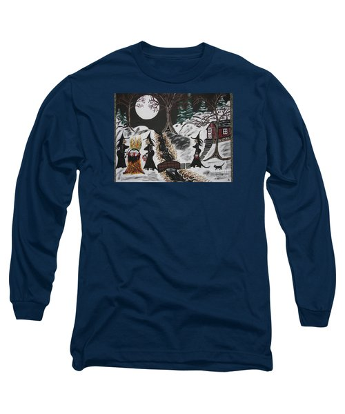 Long Sleeve T-Shirt featuring the painting Lunch by Jeffrey Koss