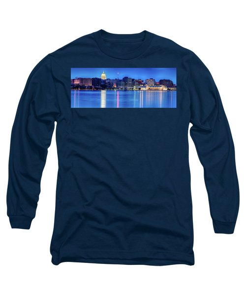 Madison Skyline Reflection Long Sleeve T-Shirt