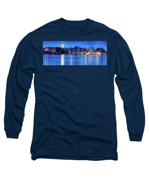 Madison Skyline Reflection Long Sleeve T-Shirt