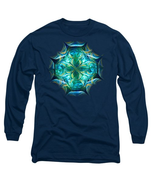 Magic Mark Long Sleeve T-Shirt by Anastasiya Malakhova