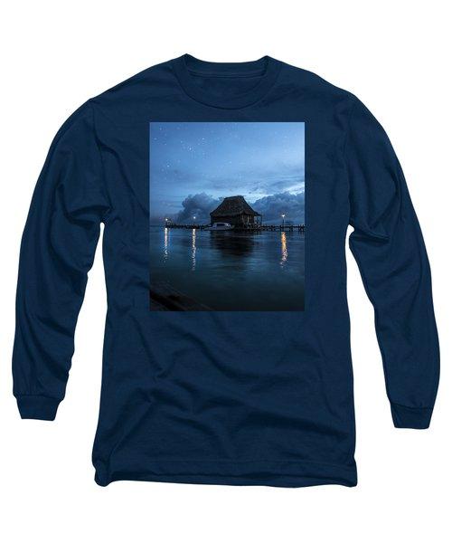 Magic Of A Night Long Sleeve T-Shirt by Yuri Santin