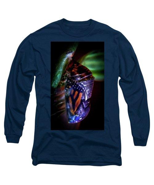 Magical Monarch Long Sleeve T-Shirt by Karen Wiles