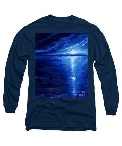Magical Moonlight Long Sleeve T-Shirt by James Christopher Hill