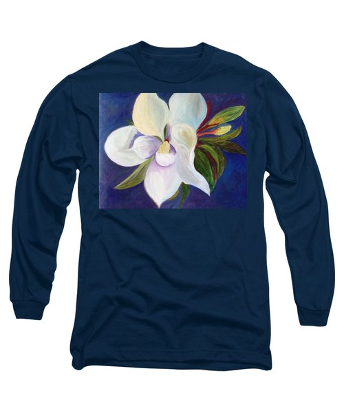 Magnolia Painting Long Sleeve T-Shirt