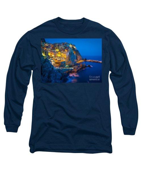 Manarola By Night Long Sleeve T-Shirt