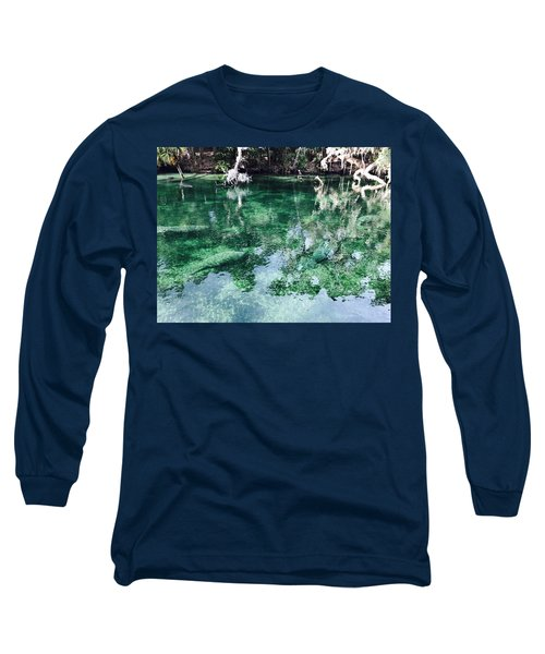 Manatees Long Sleeve T-Shirt