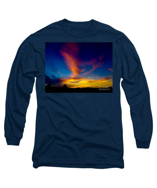 Sunset March 31, 2018 Long Sleeve T-Shirt