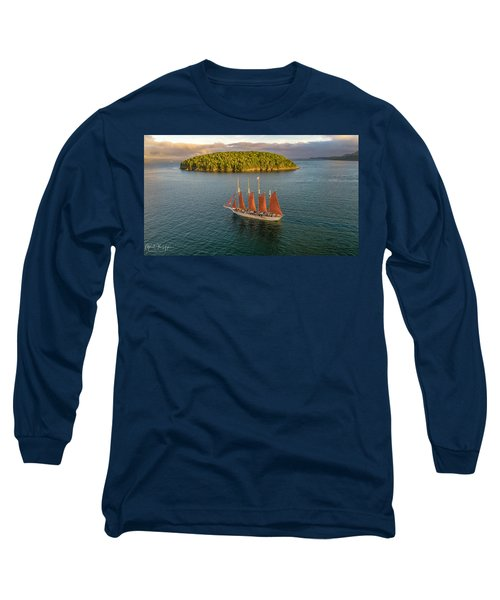 Margaret Todd Schooner Long Sleeve T-Shirt
