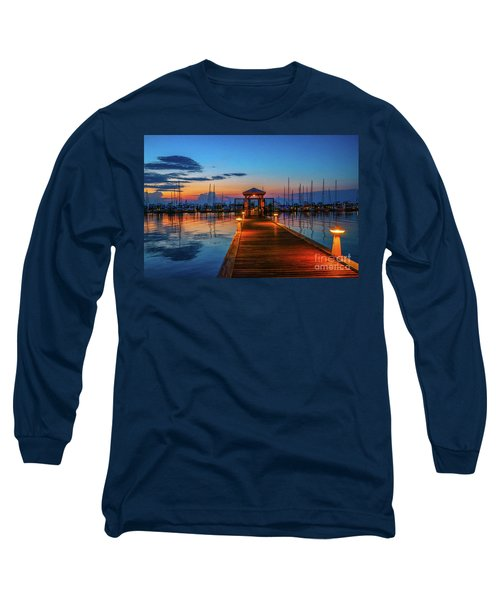 Marina Sunrise Long Sleeve T-Shirt