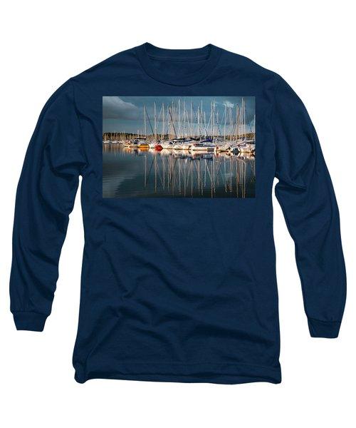Marina Sunset 7 Long Sleeve T-Shirt