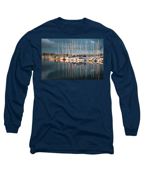 Marina Sunset 7 Long Sleeve T-Shirt