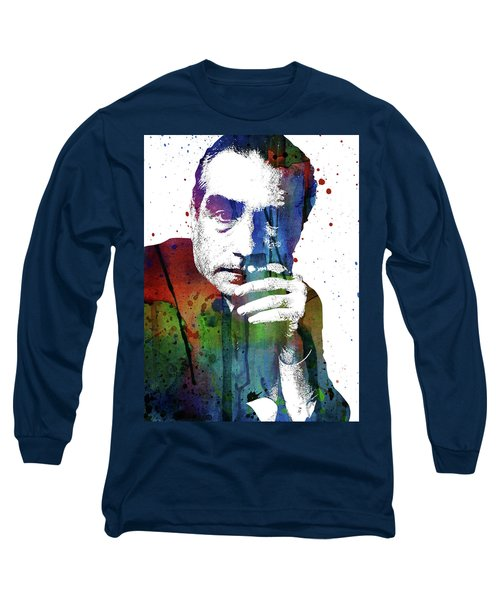 Martin Scorsese Long Sleeve T-Shirt by Mihaela Pater