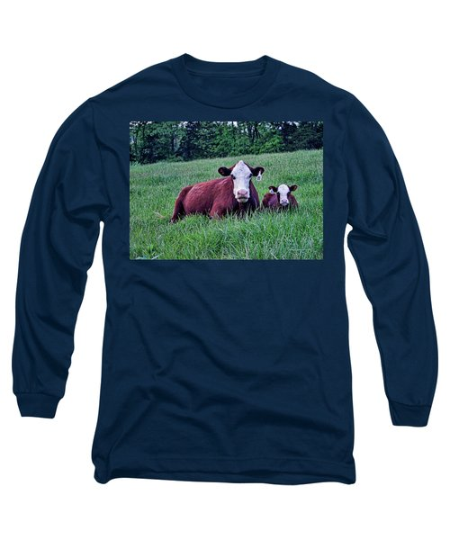 Long Sleeve T-Shirt featuring the photograph Matched Set by Cricket Hackmann