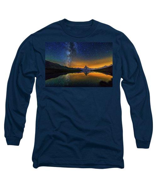 Matterhorn By Night Long Sleeve T-Shirt
