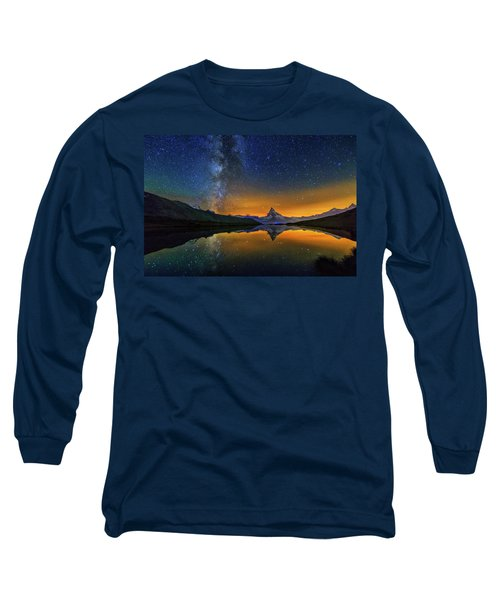 Matterhorn By Night Long Sleeve T-Shirt