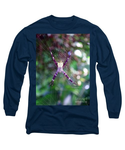 Maui Orbweaver/garden Spider Long Sleeve T-Shirt