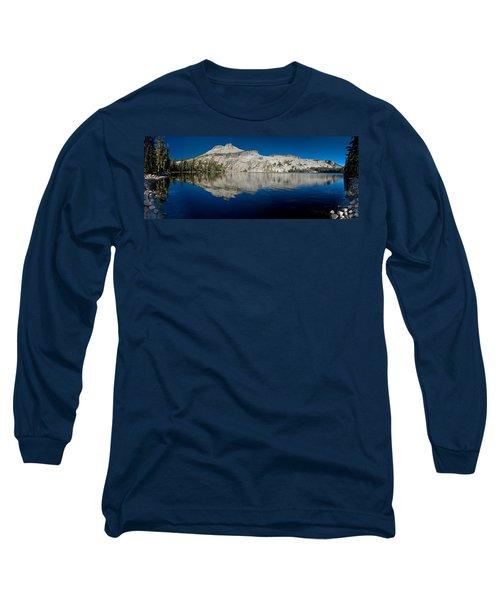 May Lake Panorama Long Sleeve T-Shirt