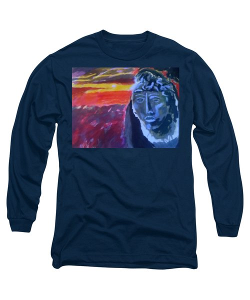Maya Sunset Long Sleeve T-Shirt
