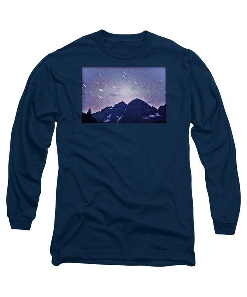 Mb Star Showers Long Sleeve T-Shirt by Matt Helm