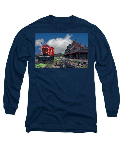 Mcadam Train Station Long Sleeve T-Shirt