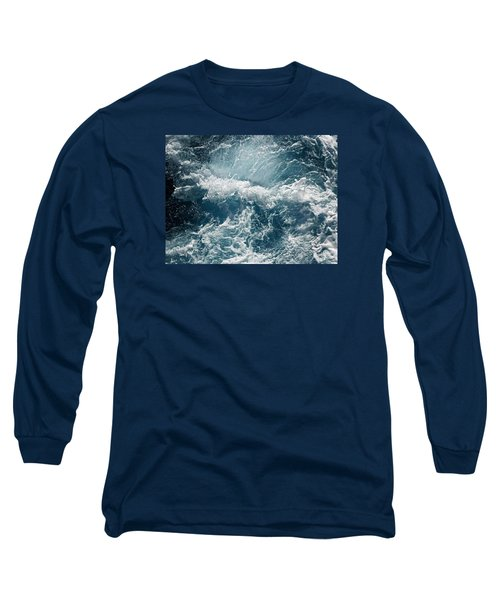 Mediterranean Sea Art 53 Long Sleeve T-Shirt by Richard Rosenshein