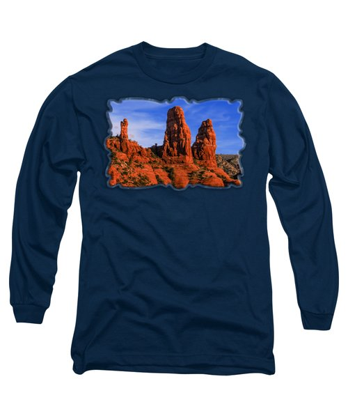 Megalithic Red Rocks Long Sleeve T-Shirt