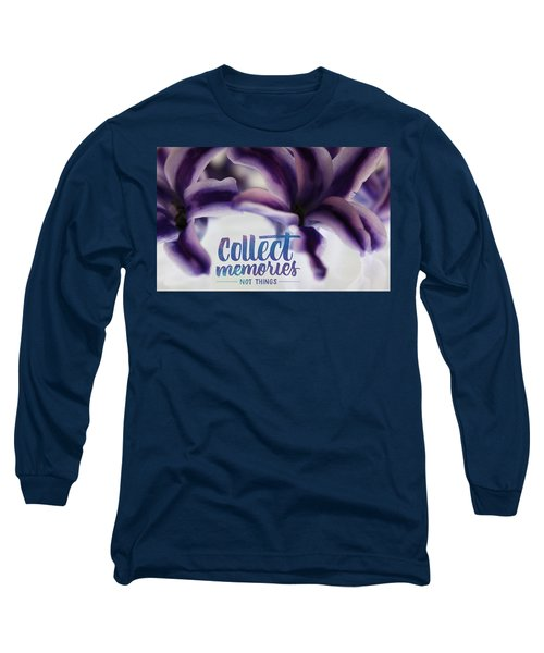 Long Sleeve T-Shirt featuring the photograph Memories by Bobby Villapando