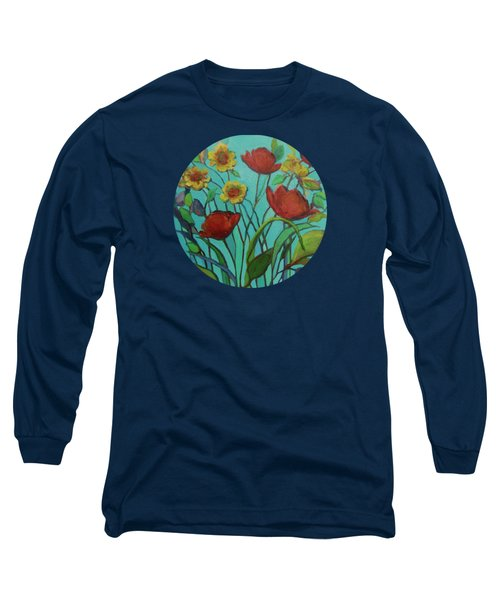 Memories Of The Meadow Long Sleeve T-Shirt by Mary Wolf