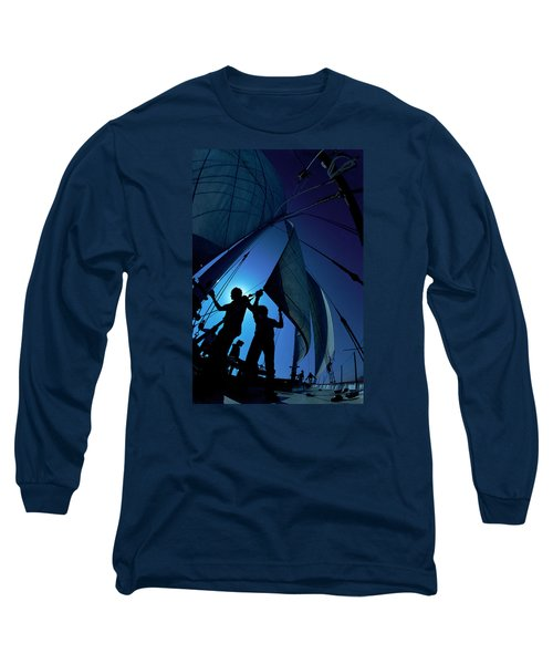 Men At Work Long Sleeve T-Shirt