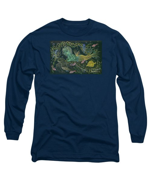 Merbaby Green Long Sleeve T-Shirt