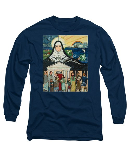Mercy Foundress Catherine Mcauley Long Sleeve T-Shirt