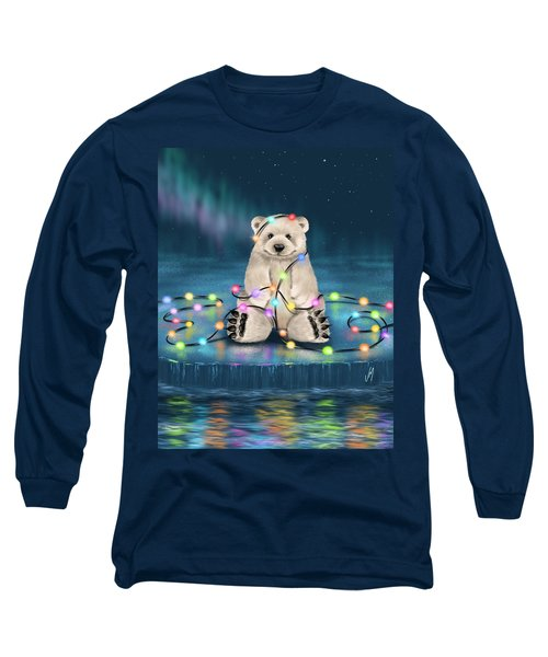 Long Sleeve T-Shirt featuring the painting Merry Christmas  by Veronica Minozzi